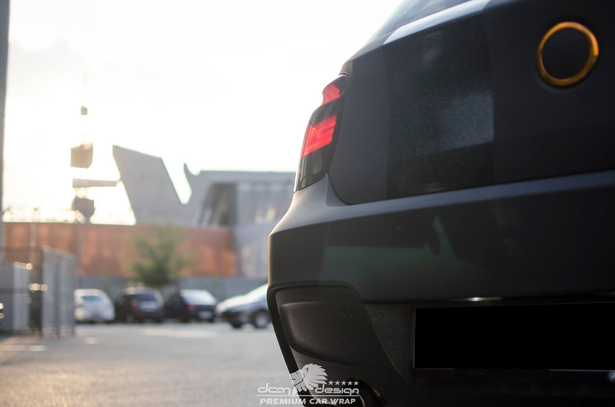 Matte Black BMW M135i by DCM Design  (19)