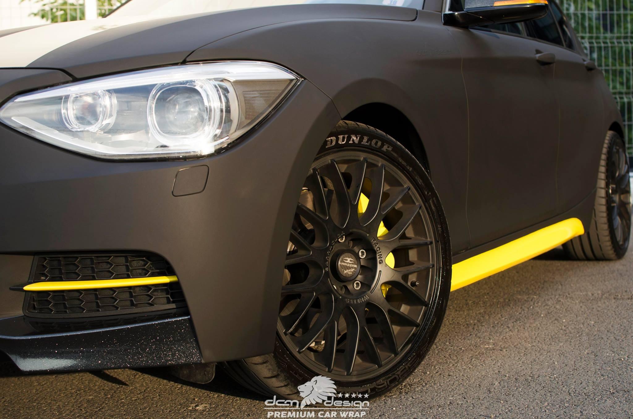 Matte Black BMW M135i by DCM Design  (2)