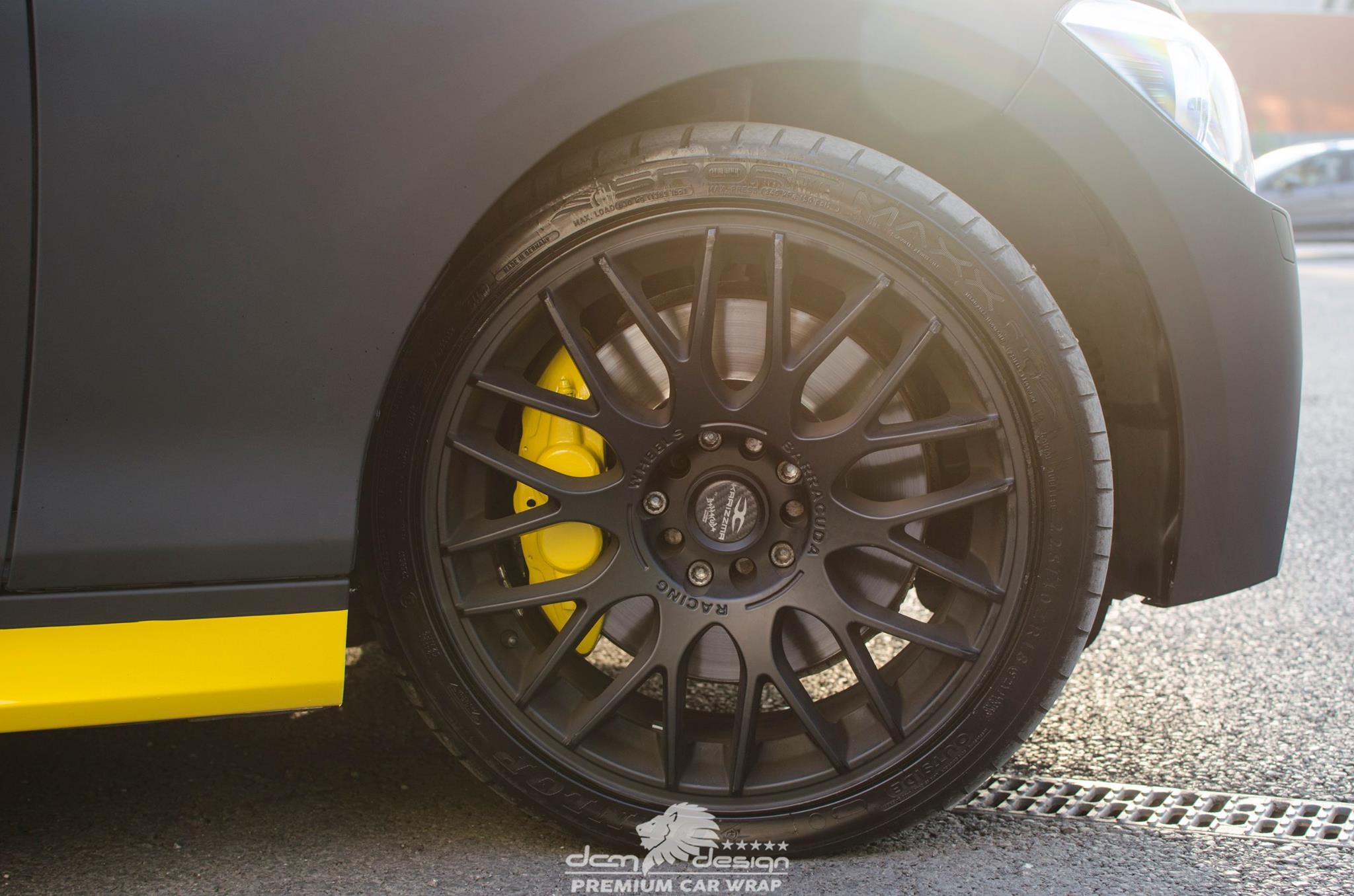 Matte Black BMW M135i by DCM Design  (20)