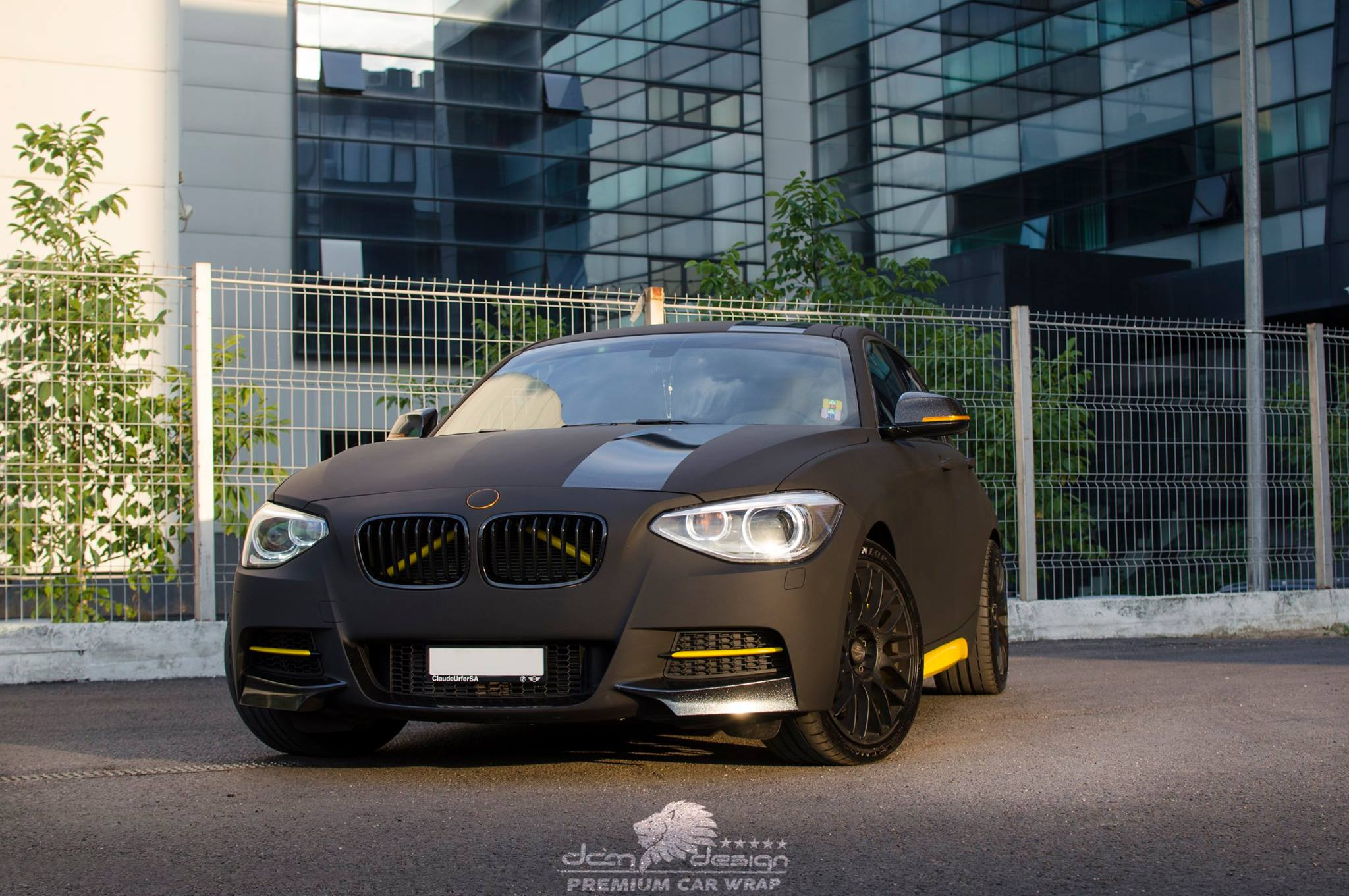 Matte Black BMW M135i by DCM Design  (5)