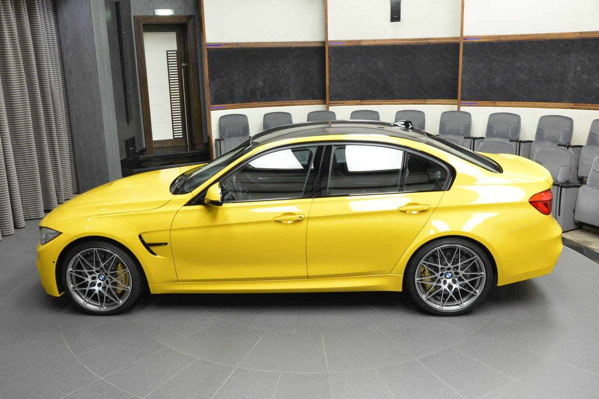 speed-yellow-bmw-m3-1