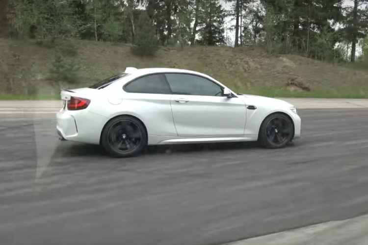 bmw-m2-coupe-in-drag-race