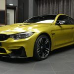 Austin Yellow F8 BMW M4 in Abu Dhabi (1)