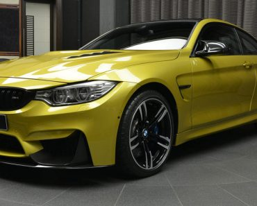 Austin Yellow F8 BMW M4 in Abu Dhabi (23)
