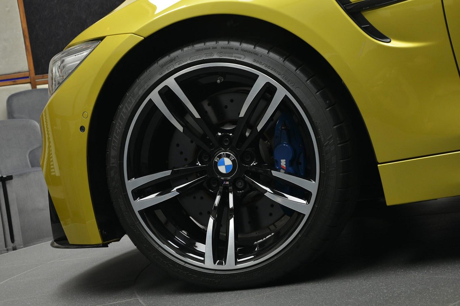 Austin Yellow F8 BMW M4 in Abu Dhabi (9)