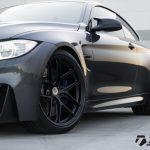 Mineral Grey BMW M4 Wrapped in HRE Wheels (6)