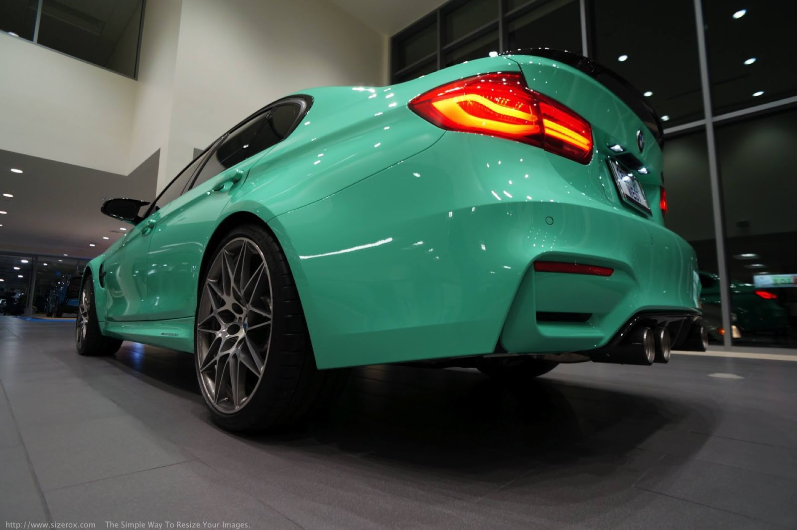 Mint Green F80 BMW M3 with M Performance (15)