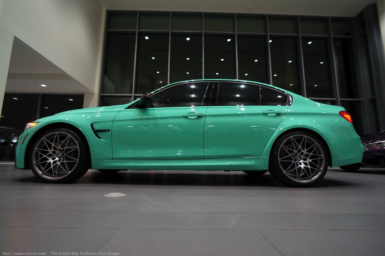 Mint Green F80 BMW M3 with M Performance (2)