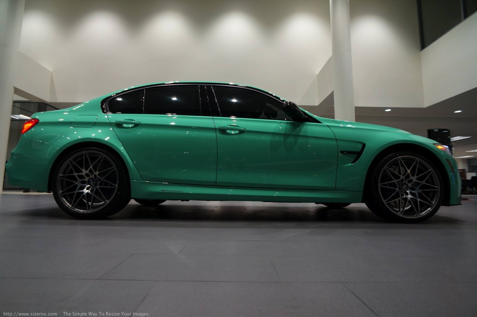 Mint Green F80 BMW M3 with M Performance (27)