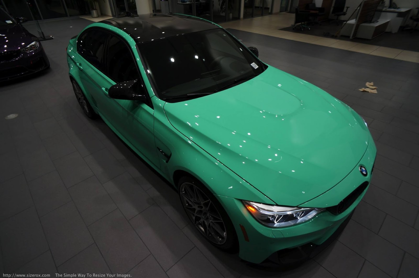 Mint Green F80 BMW M3 with M Performance (31)