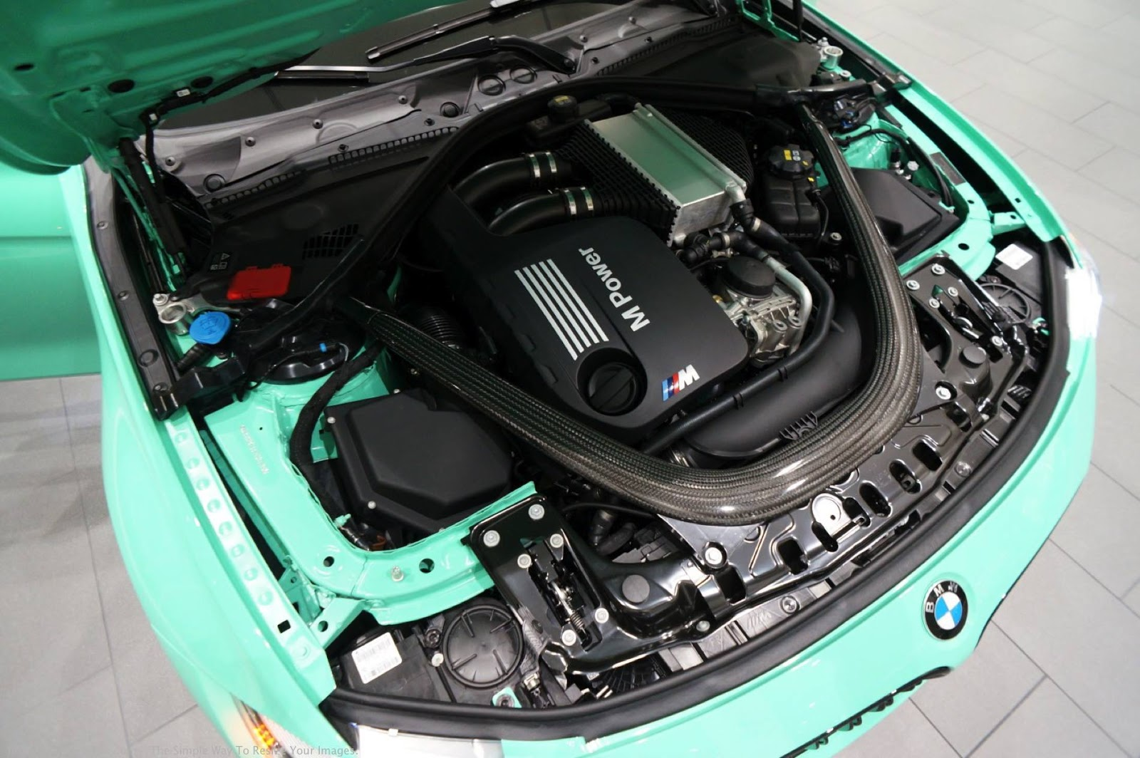 Mint Green F80 BMW M3 with M Performance (36)