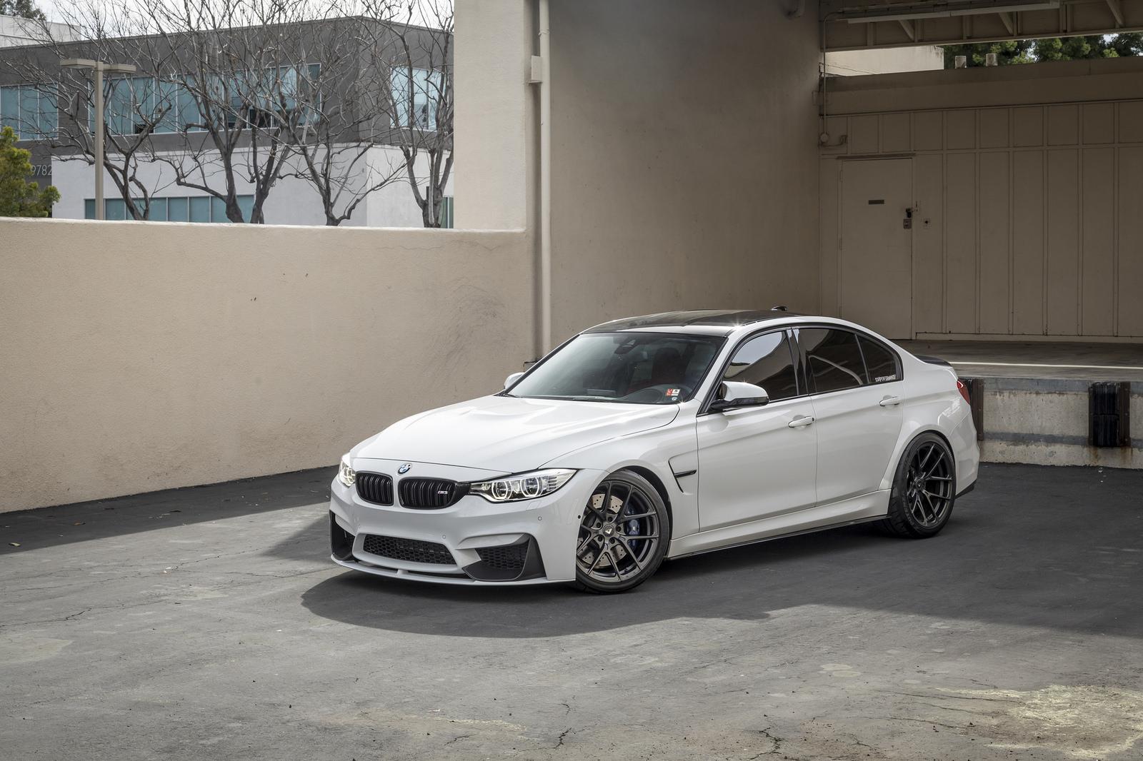 Alpine White BMW M3 by Vorsteiner (11)