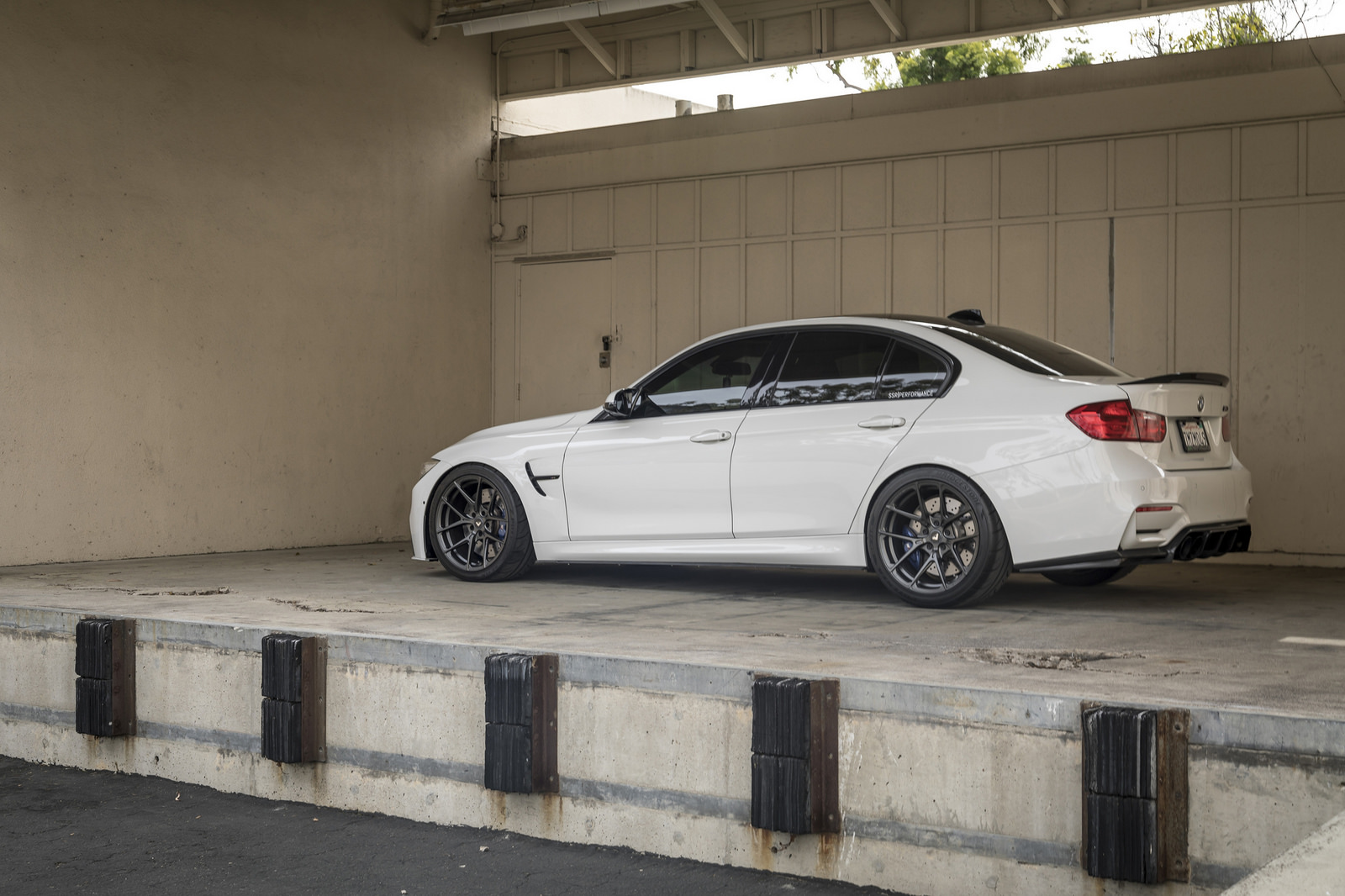 Alpine White BMW M3 by Vorsteiner (17)