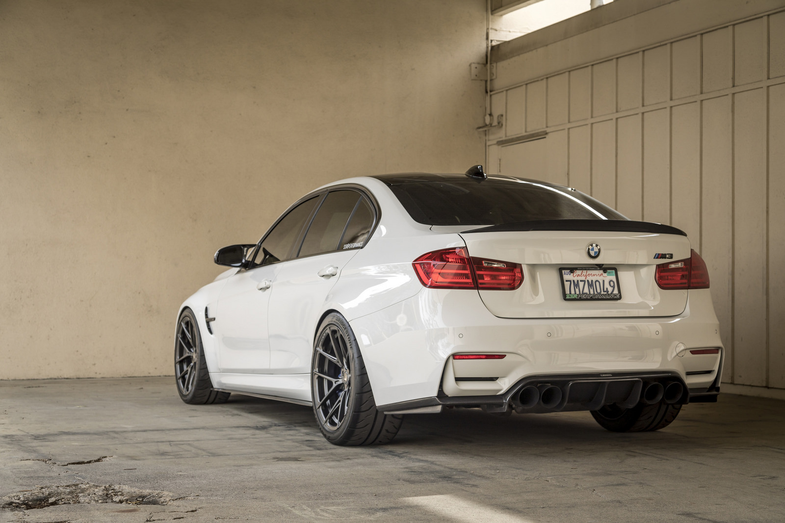 Alpine White BMW M3 by Vorsteiner (19)