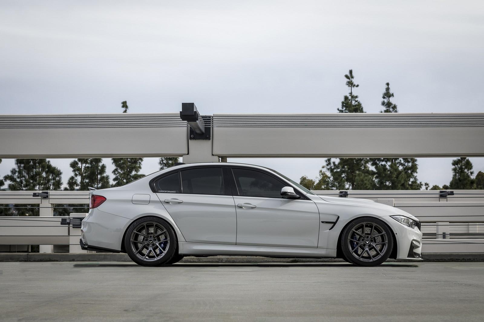 Alpine White BMW M3 by Vorsteiner (2)