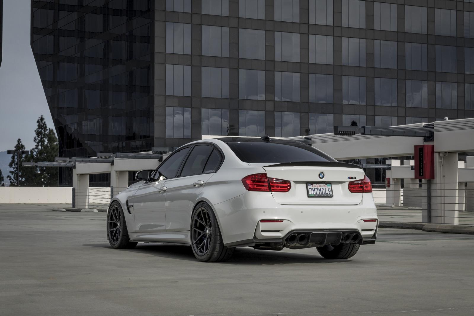 Alpine White BMW M3 by Vorsteiner (6)