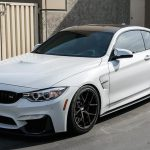 Alpine White F82 BMW M4 with BBS Wheels (1)
