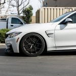 Alpine White F82 BMW M4 with BBS Wheels (5)