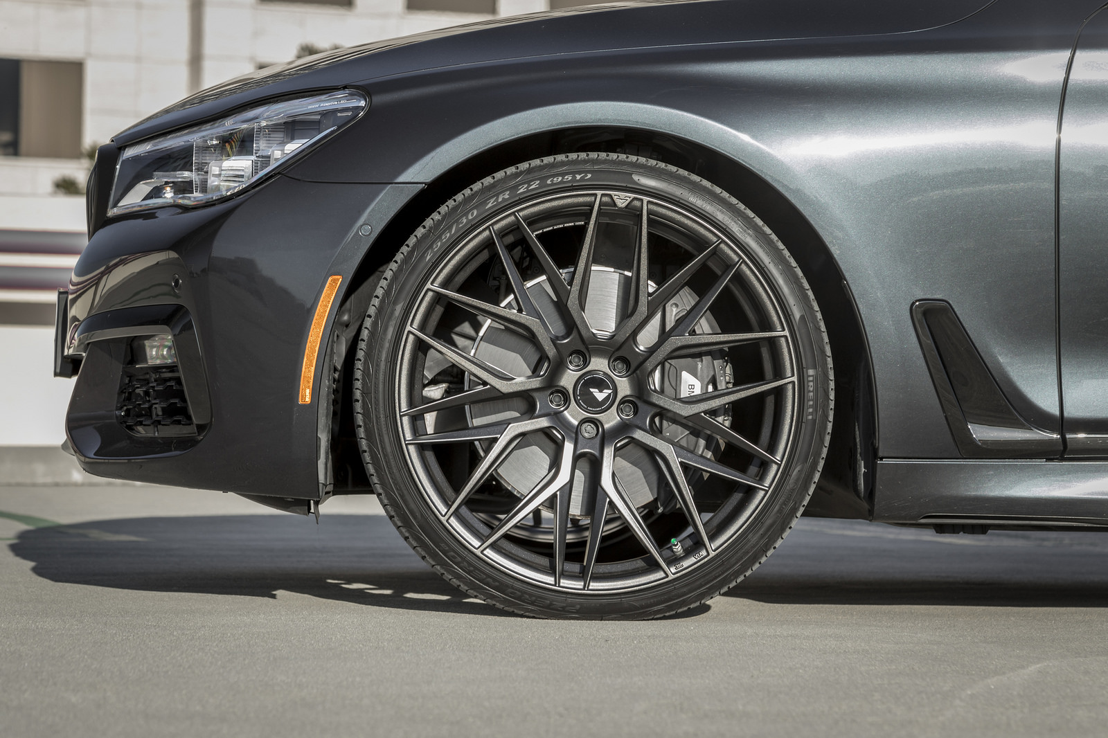 BMW 7-Series Wrapped in V-FF 107 Wheels (14)