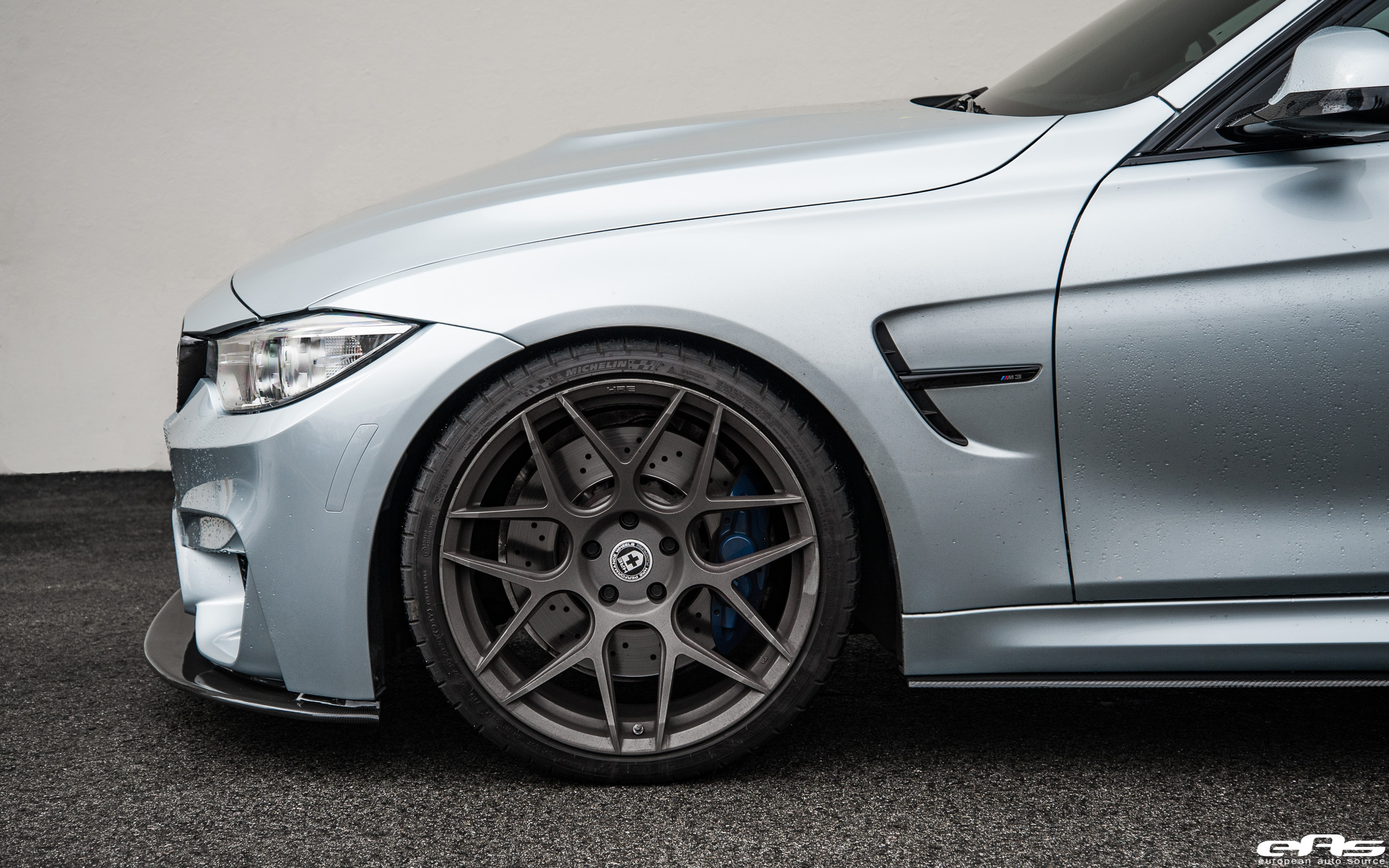 BMW M3 in Silverstone Metallic with New Styling Updated by EAS (1)