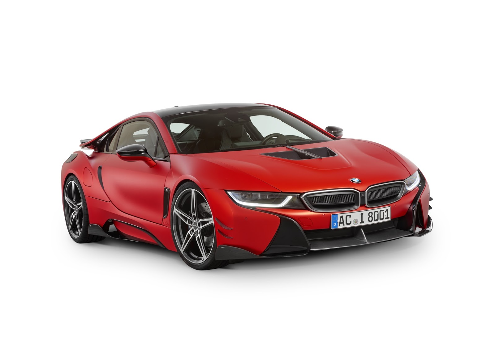 BMW i8 with Carbon Aerodynamic Accessories by AC Schnitzer (1)
