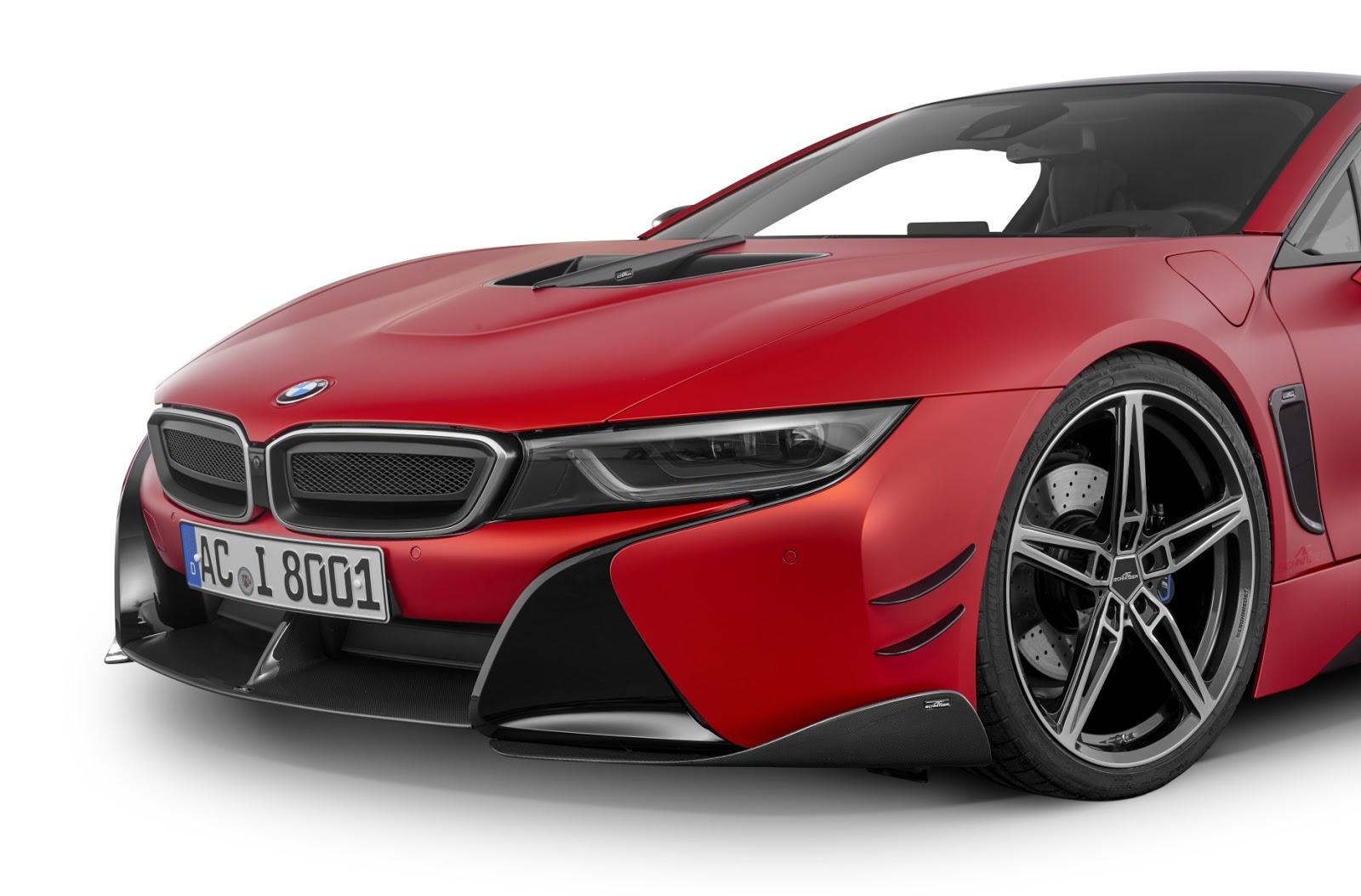 BMW i8 with Carbon Aerodynamic Accessories by AC Schnitzer (11)