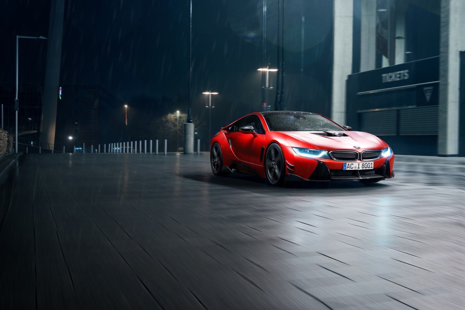 BMW i8 with Carbon Aerodynamic Accessories by AC Schnitzer (22)