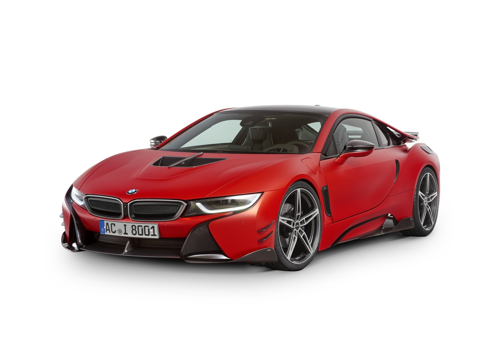 BMW i8 with Carbon Aerodynamic Accessories by AC Schnitzer (3)