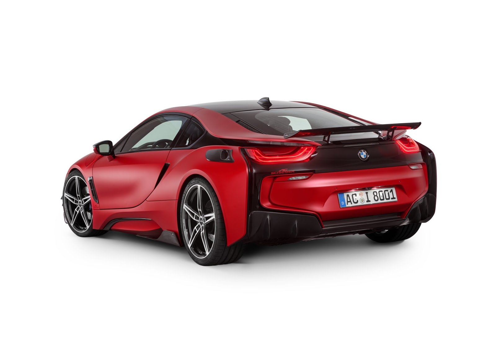 BMW i8 with Carbon Aerodynamic Accessories by AC Schnitzer (5)