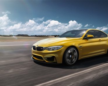 Speed Yellow F82 BMW M4