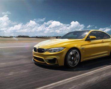 Speed Yellow F82 BMW M4