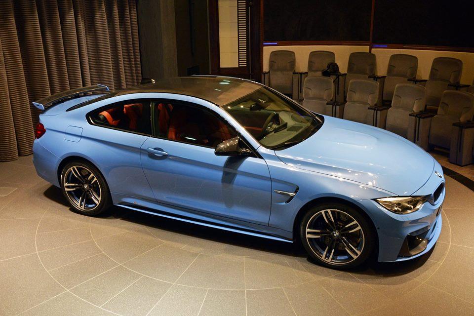 Yas Marina Blue F82 BMW M4 (5)