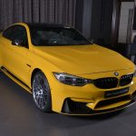 Yellow F82 BMW M4 Individual (1)