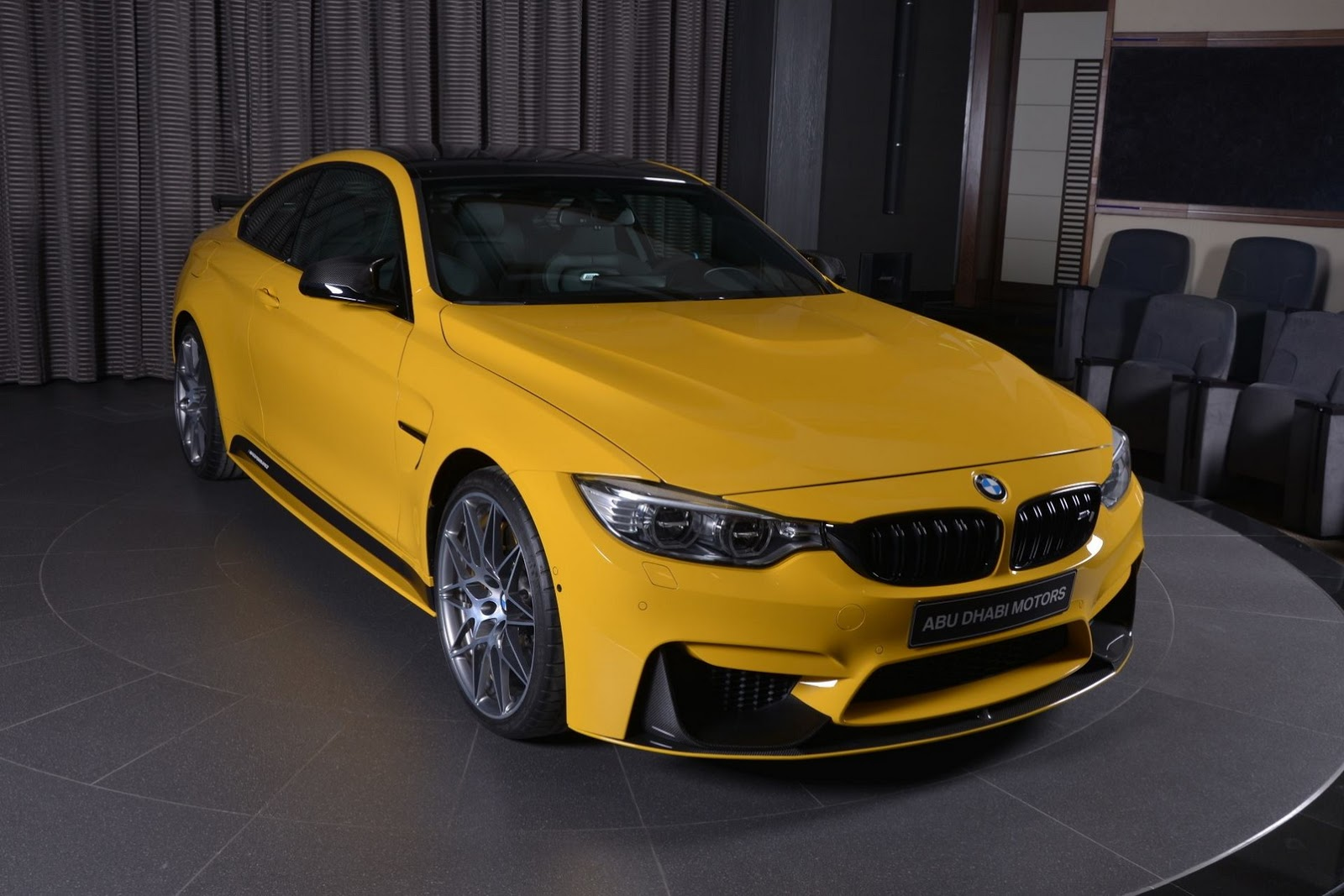 Yellow F82 BMW M4 Individual (1)