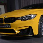 Yellow F82 BMW M4 Individual (11)