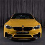 Yellow F82 BMW M4 Individual (12)