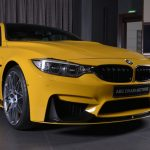 Yellow F82 BMW M4 Individual (15)