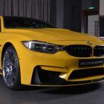 Yellow F82 BMW M4 Individual (15)