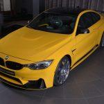 Yellow F82 BMW M4 Individual (18)