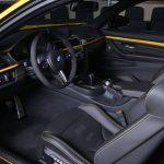Yellow F82 BMW M4 Individual (19)