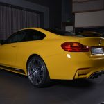 Yellow F82 BMW M4 Individual (2)