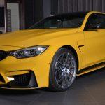Yellow F82 BMW M4 Individual (22)