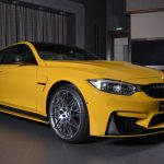 Yellow F82 BMW M4 Individual (7)