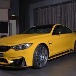Yellow F82 BMW M4 Individual (8)
