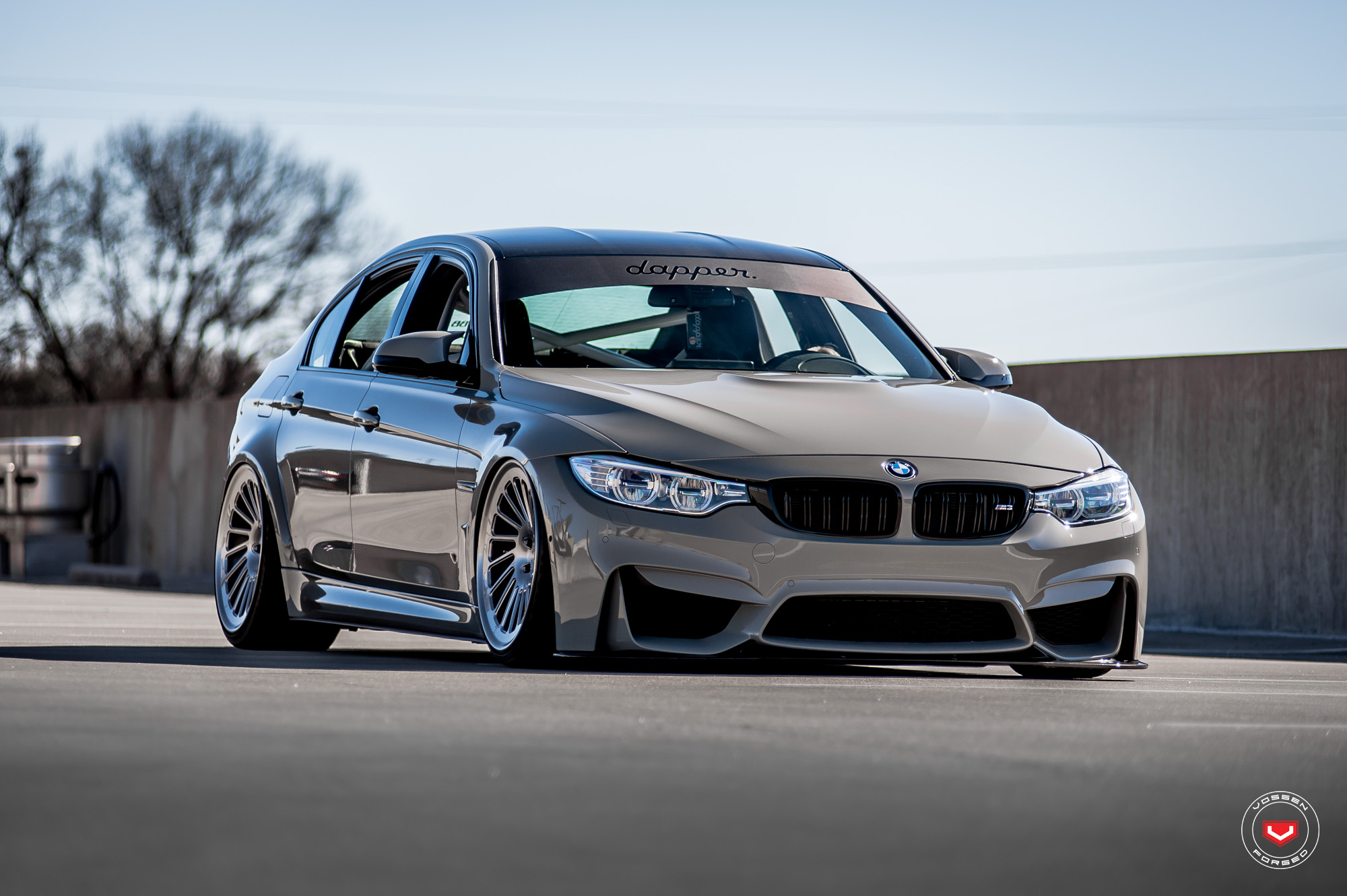 one off bmw m3 wears vossen s forged wheels bmw car tuning. Black Bedroom Furniture Sets. Home Design Ideas