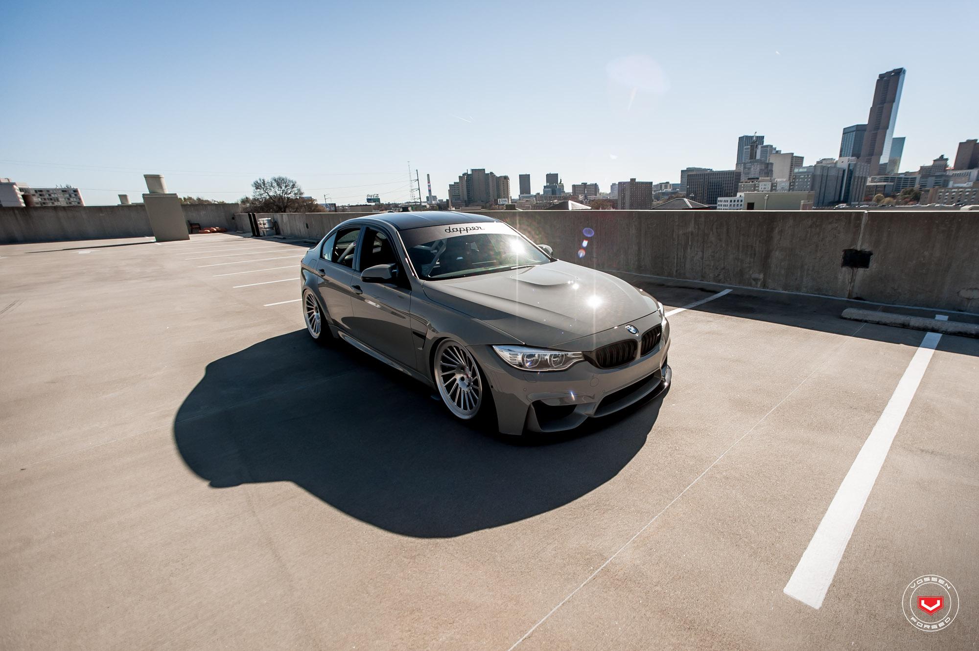 BMW M3 on Vossen Wheels (10)