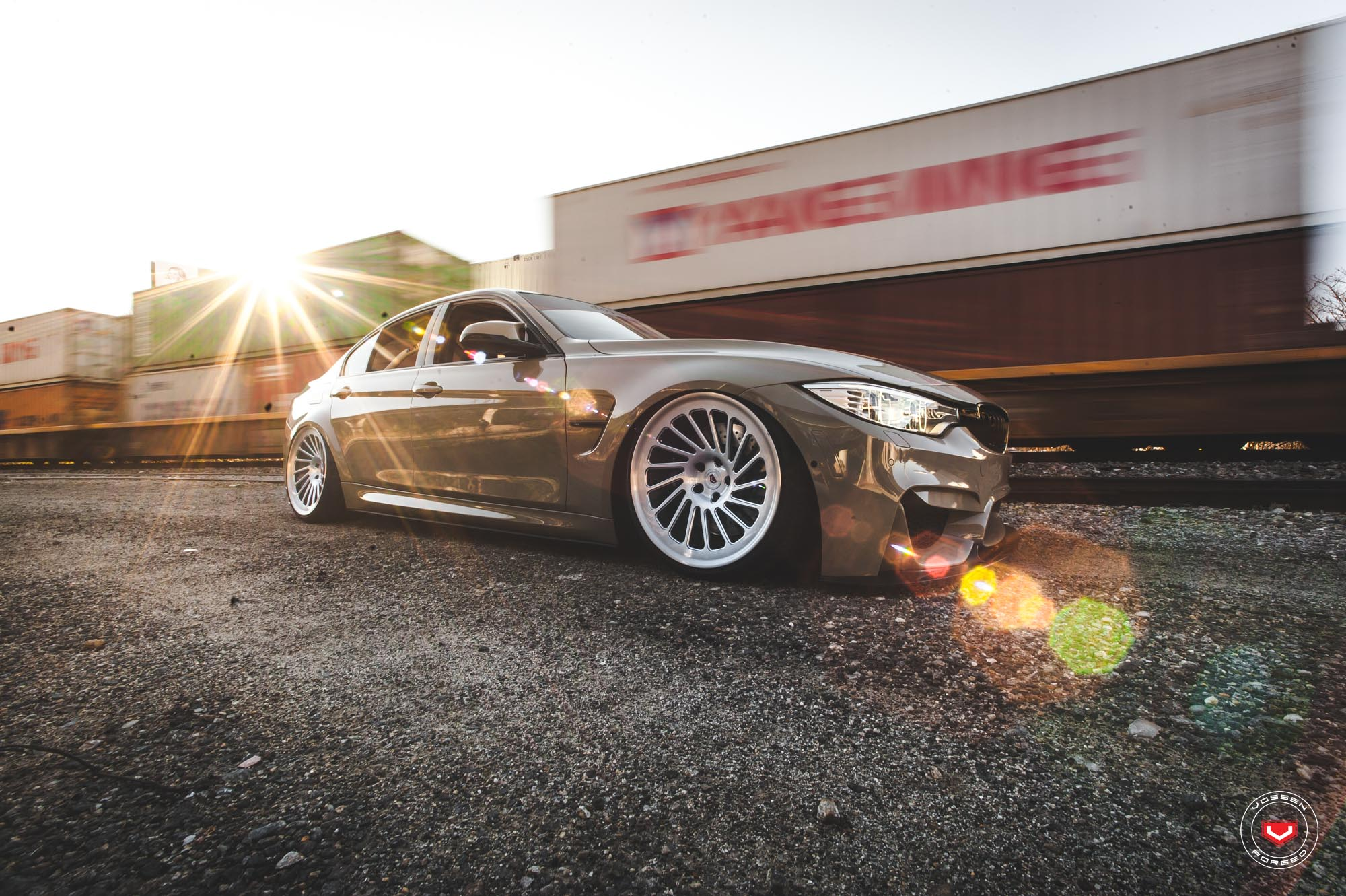 BMW M3 on Vossen Wheels (13)
