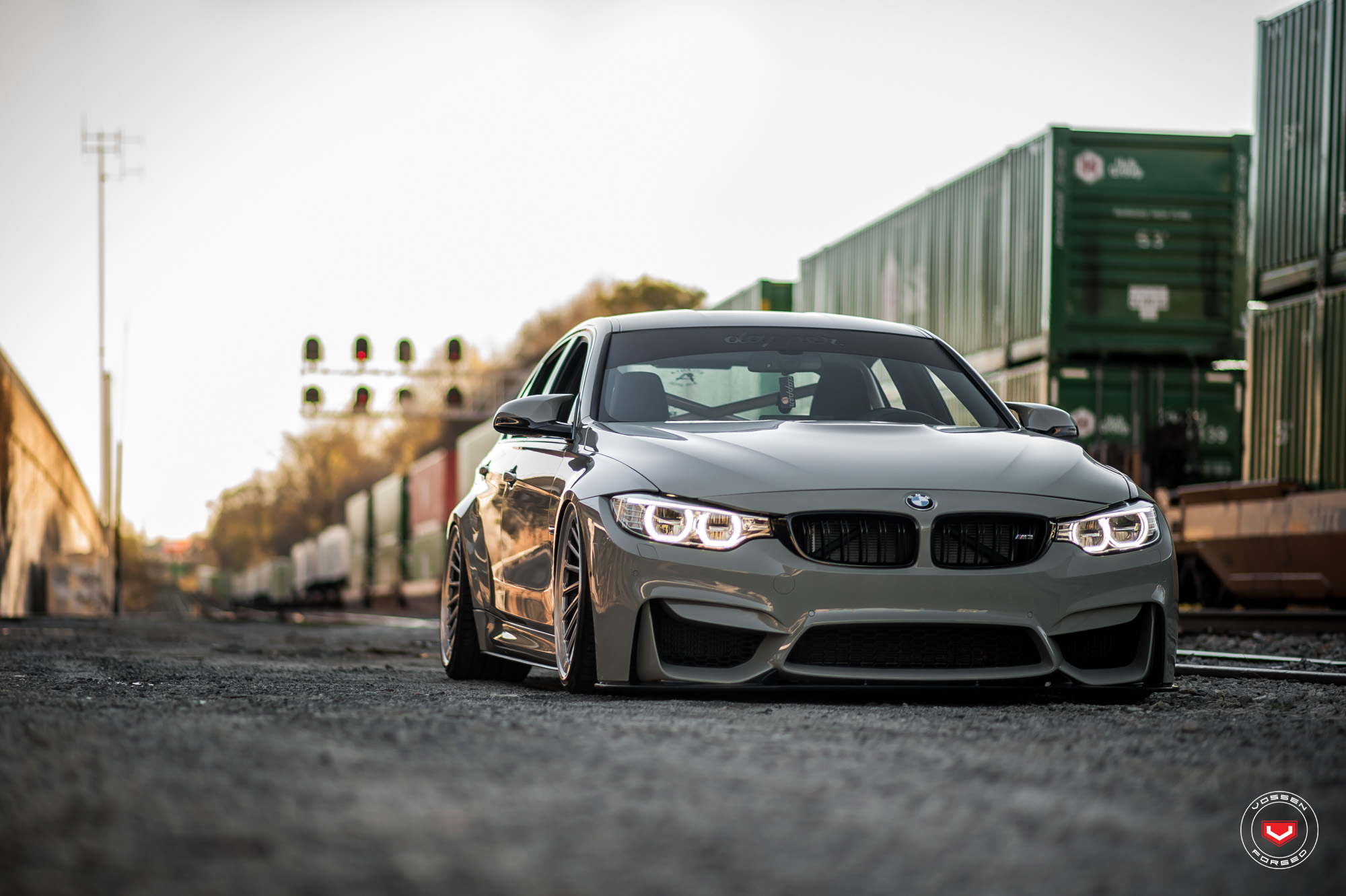 BMW M3 on Vossen Wheels (17)