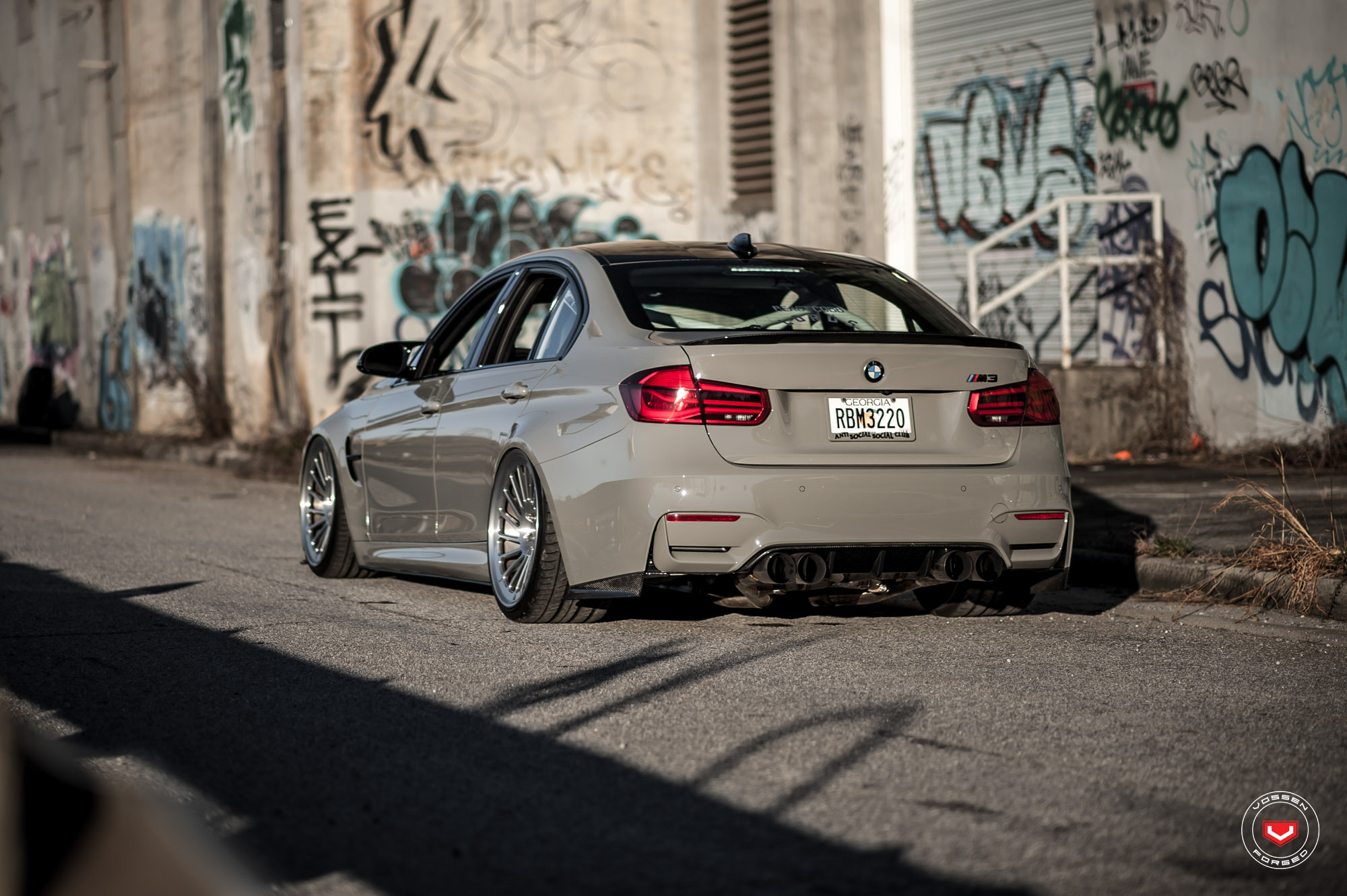 BMW M3 on Vossen Wheels (22)