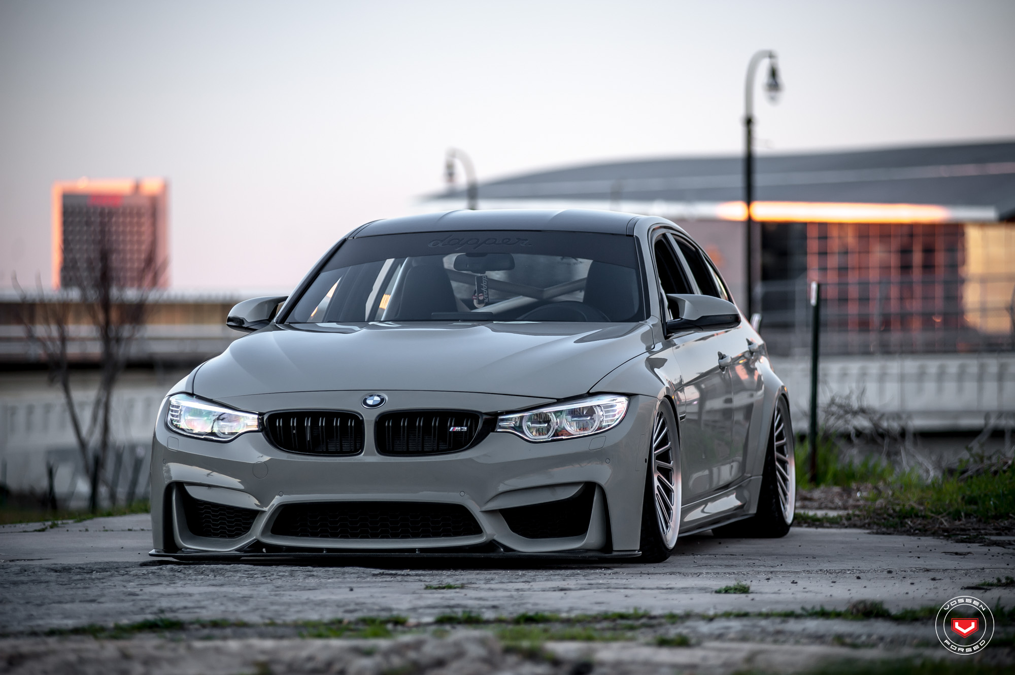 BMW M3 on Vossen Wheels (25)